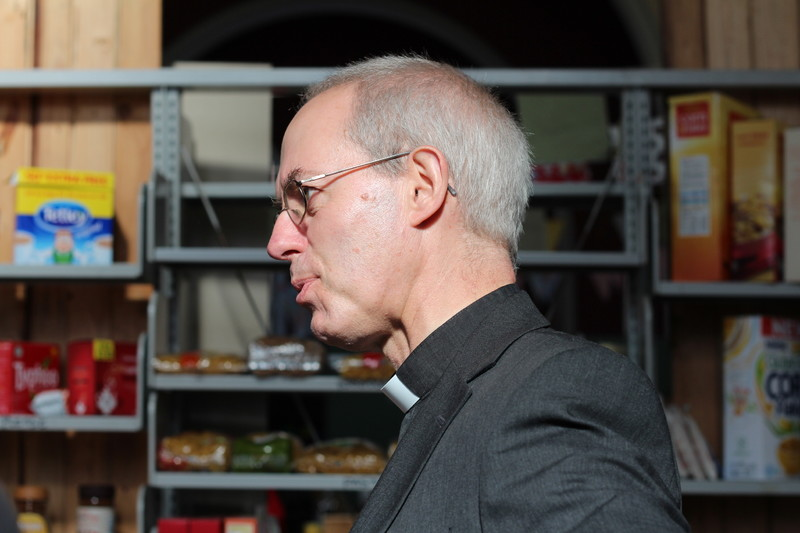 Archbishop Welby in conversation at St Christophers
