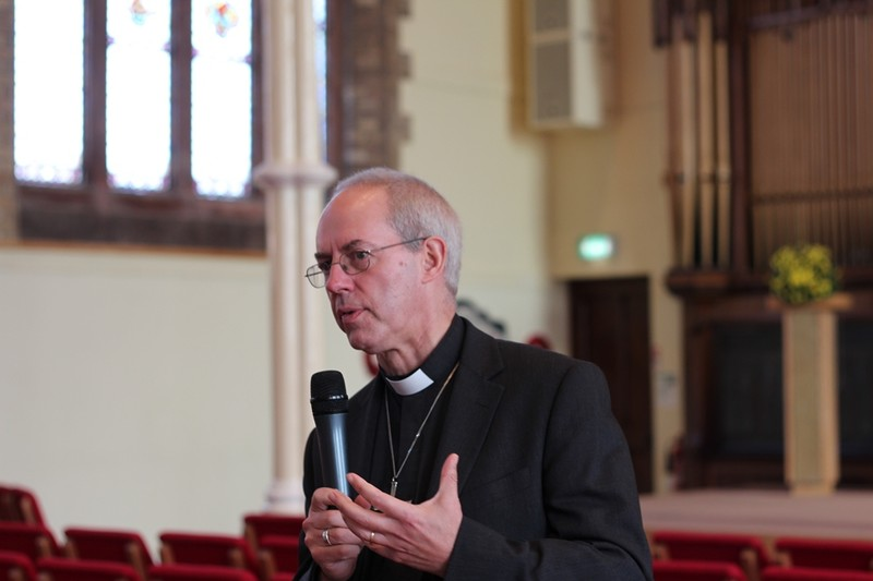 Archbishop Welby at Willowfield Church