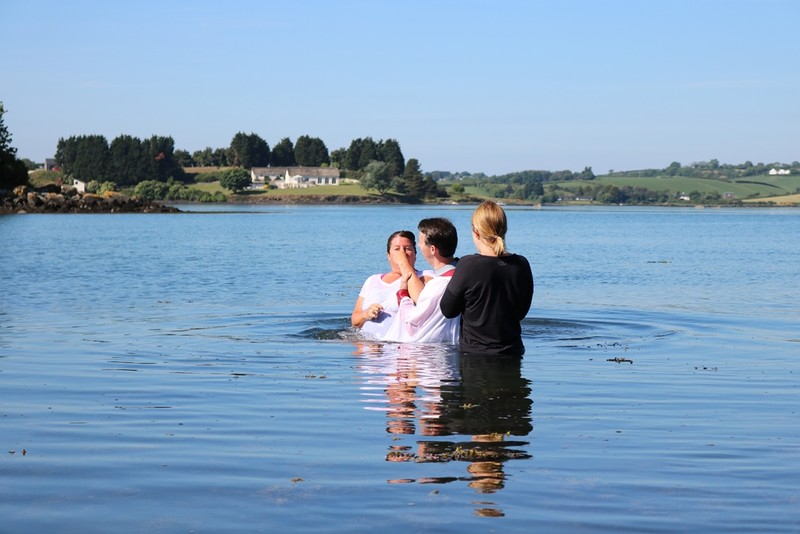 and baptised into new life in Christ