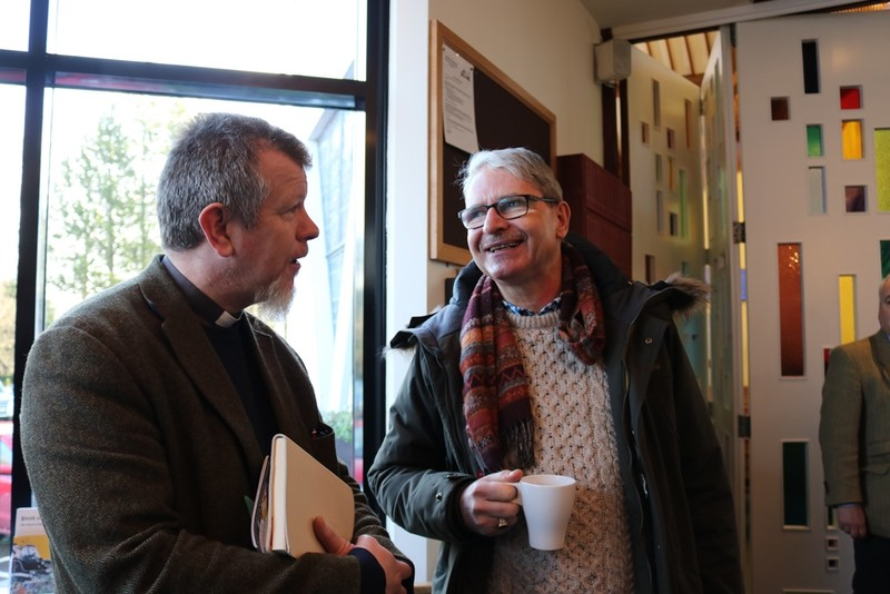 Chris Carson, Dundrum and Brian Cadden, Castelwellan