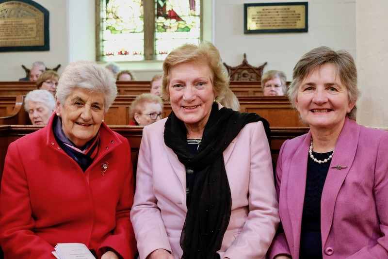 Former Presidents, Margaret Crawford, Lady Eames and Ruth Mercer