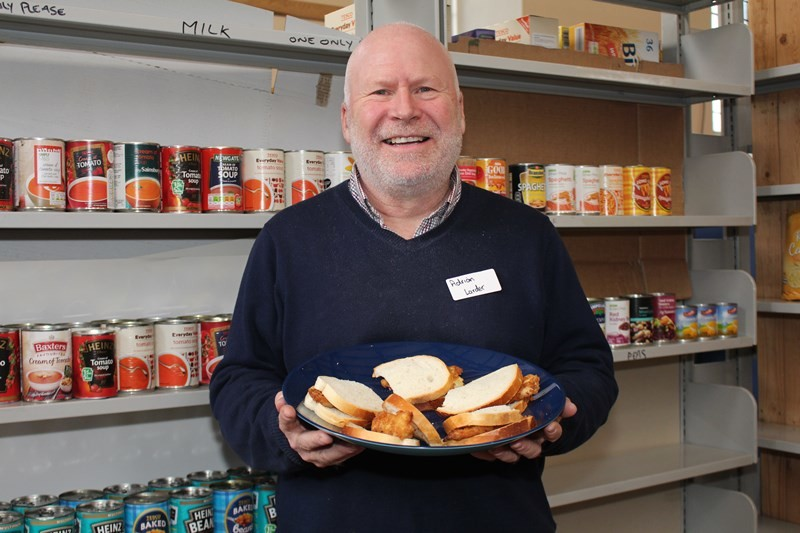 Fish finger sandwiches from Revd Adrian McCartney