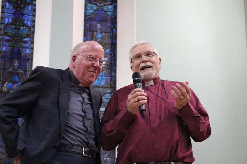 Bishop John McAreavey and Bishop Harold