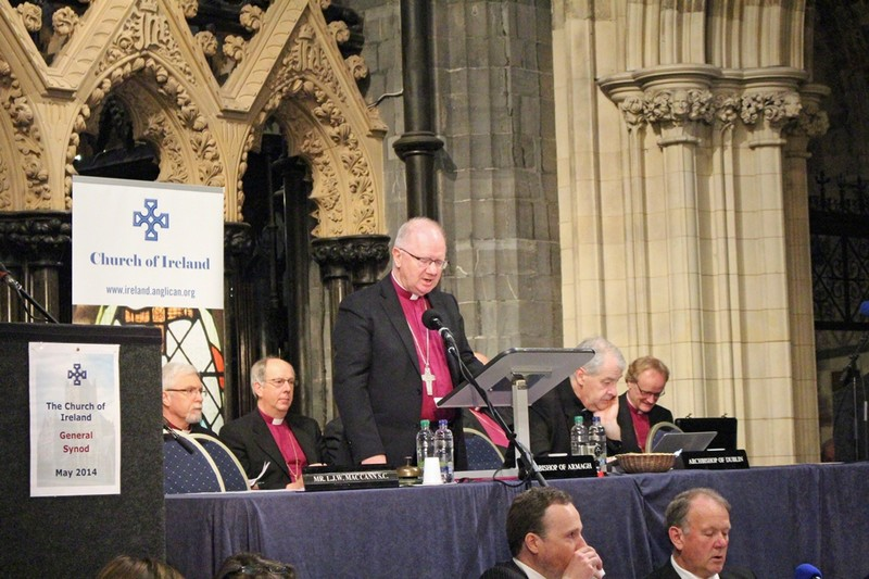 Archbishop Clarke delivers his Presidential Address
