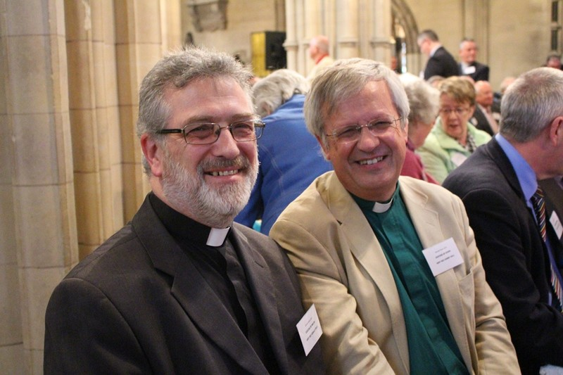 Dean of Meath with the Dean of Down, Very Revd Henry Hull