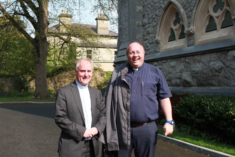 Canon Ken Higgins and Revd Willie Nixon Down