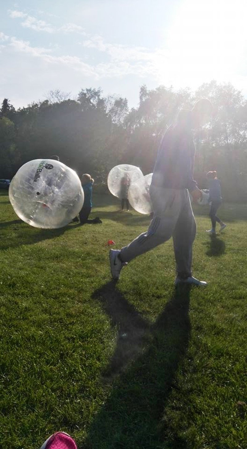 Fun with Bubble Football