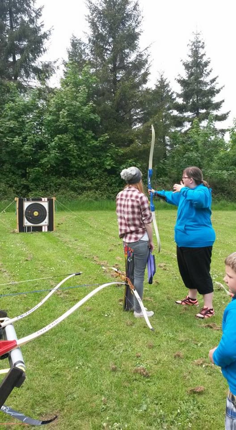 Girls archery