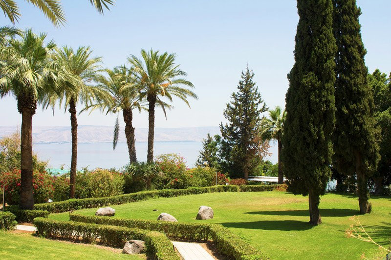 Gardens on the Mount of Beatitudes