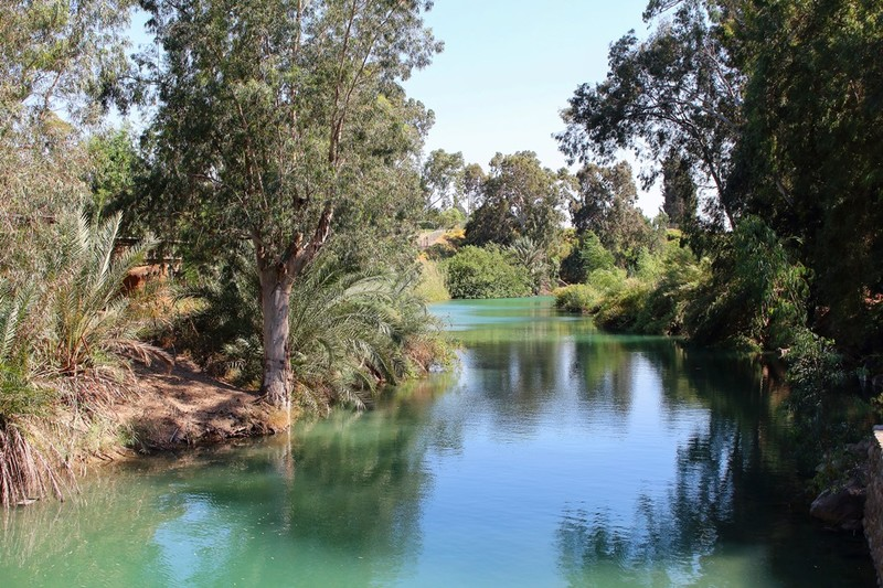 Jordan River at Yardenit