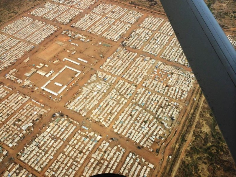 Juba camp for internally displaced people