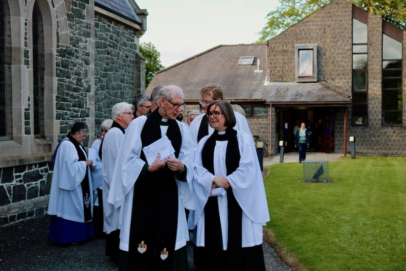 Clergy from across the Church of Ireland