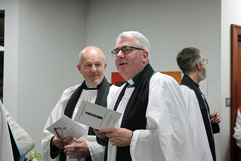 Revd Earl Storey and Archdeacon David McClay