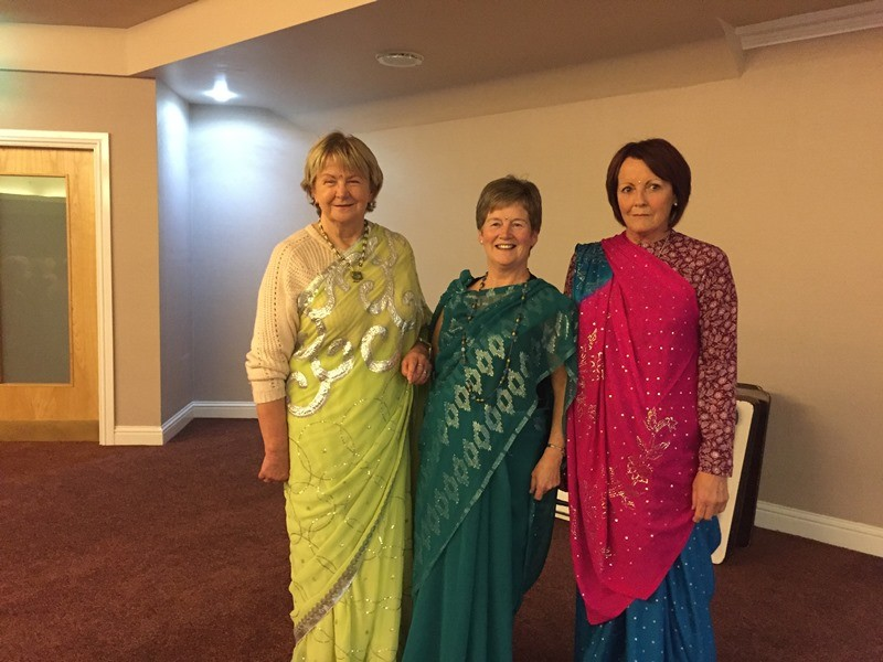 The Sari comes to Mourne