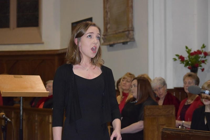 Jana Walsh sings O Holy Night