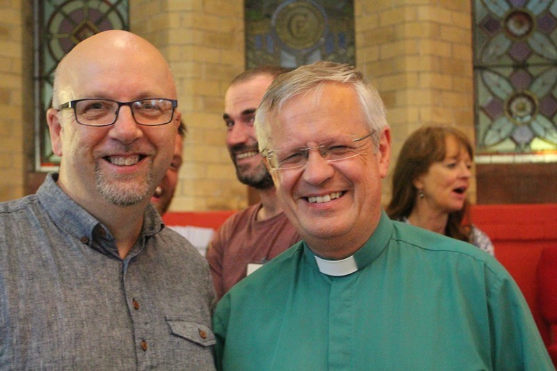 Revds Mark Harvey and Dean Henry Hull