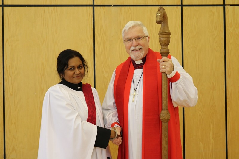 Bishop Harold and Maithrie White Dundas