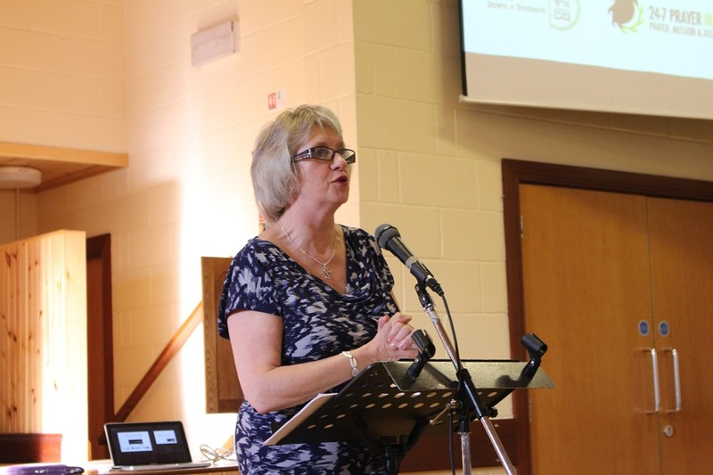 Diocesan Secretary, June Butler