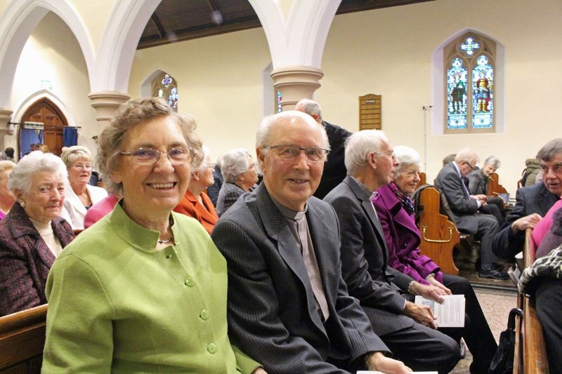 Former Curate Revd Jim and Mrs Robina Stewart