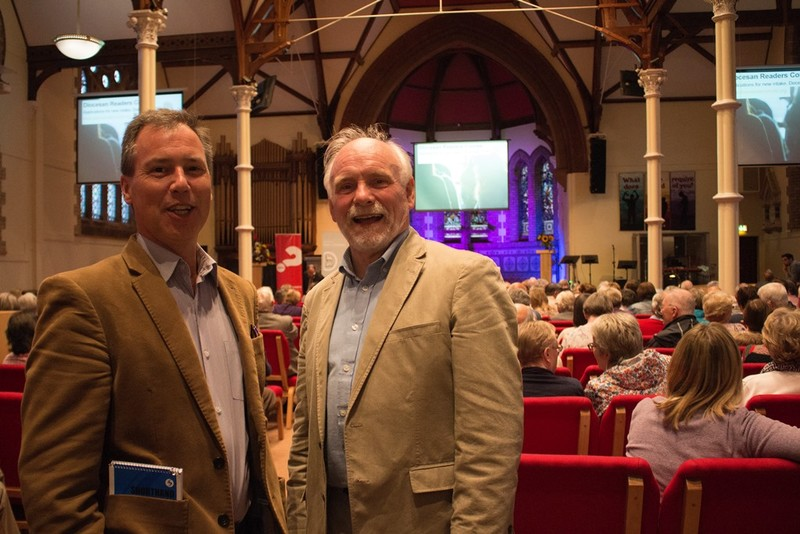 Revd Jeremy Mould and Canon David Brown